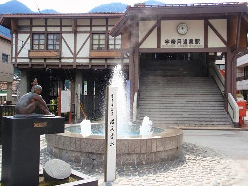 宇奈月温泉駅160827