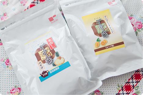 ティーライフ プーアル茶 ダイエットフルーツティー