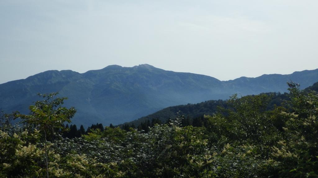 924こつぶり山から白山