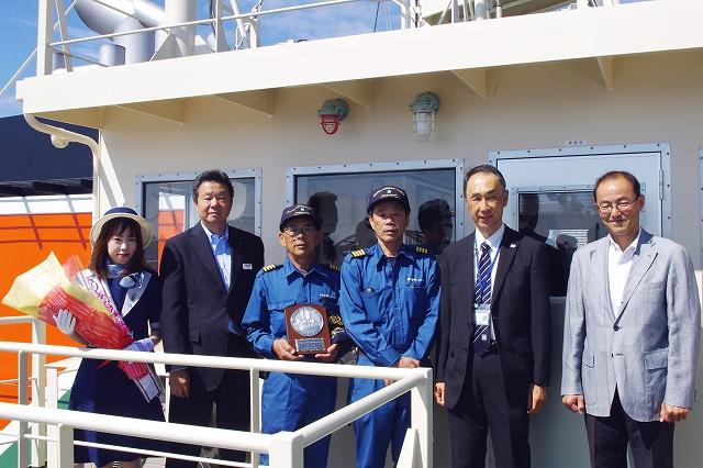 160824さくら神戸港セレモニー集合写真