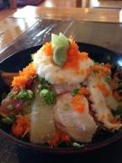 島原の平野鮮魚で新鮮な海鮮丼を堪能♪