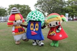 元気ばい熊本キャラフェス2016 その3~ゆるキャラたちのふれあい編~