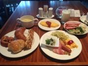 ニュースカイ内のサンシエロで大満足!朝食ビュッフェ♪
