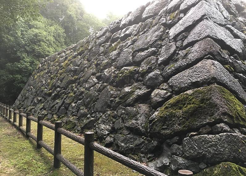 岩国城跡旧天守台石垣