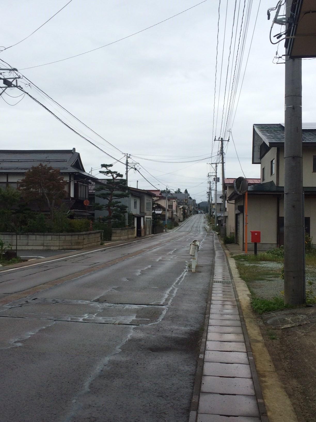 1-2 雨の羽州街道・袖崎