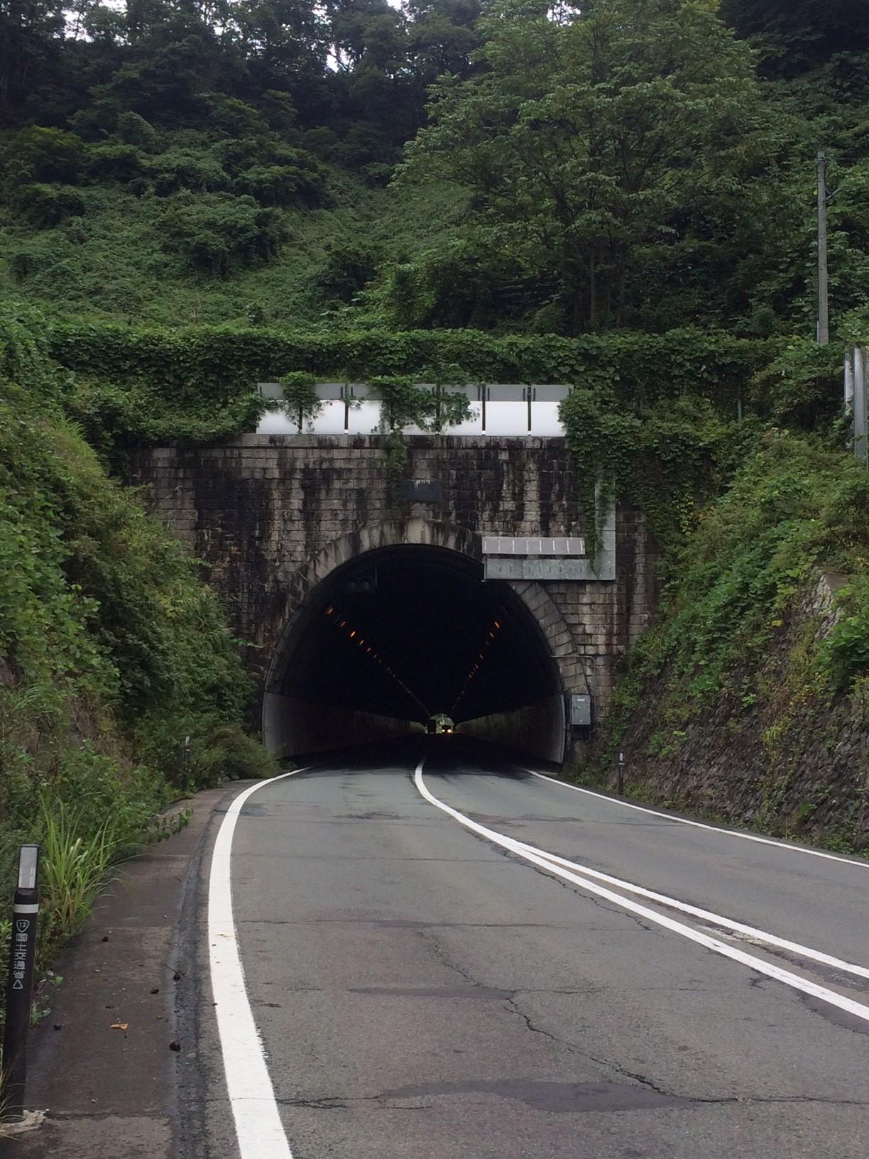 2-2 猿羽根トンネル