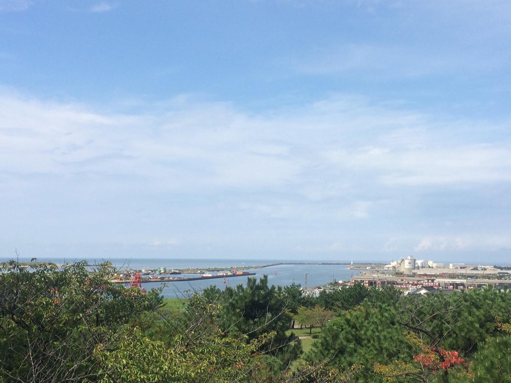 4-3 最上川河口と日本海