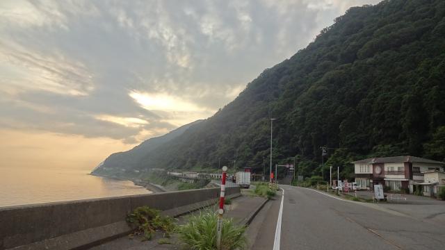 新潟県突入