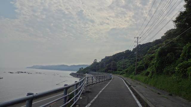 自転車道は上越まで続く