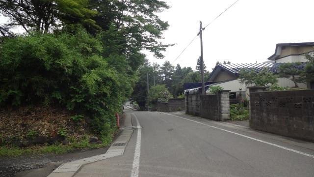 羽州街道へ