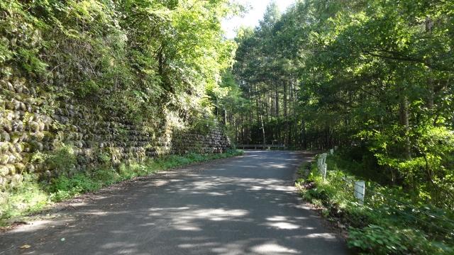 峠への道(旧木曽街道)