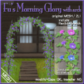 Fus Morning Glory with arch POP