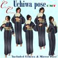 _CC_ Uchiwa pose POP