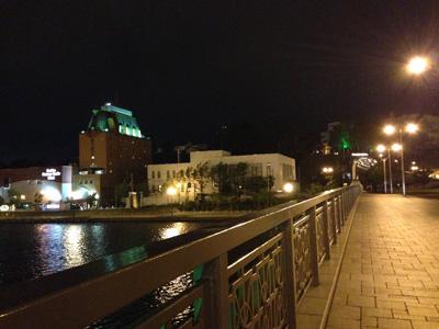 夜のキャッスルホテル