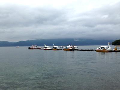 屈斜路湖ボート乗り場