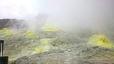 硫黄山噴出ガス