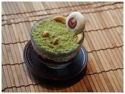 「目玉おやじ」の抹茶パフェ