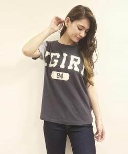 X-girl storeシャツ