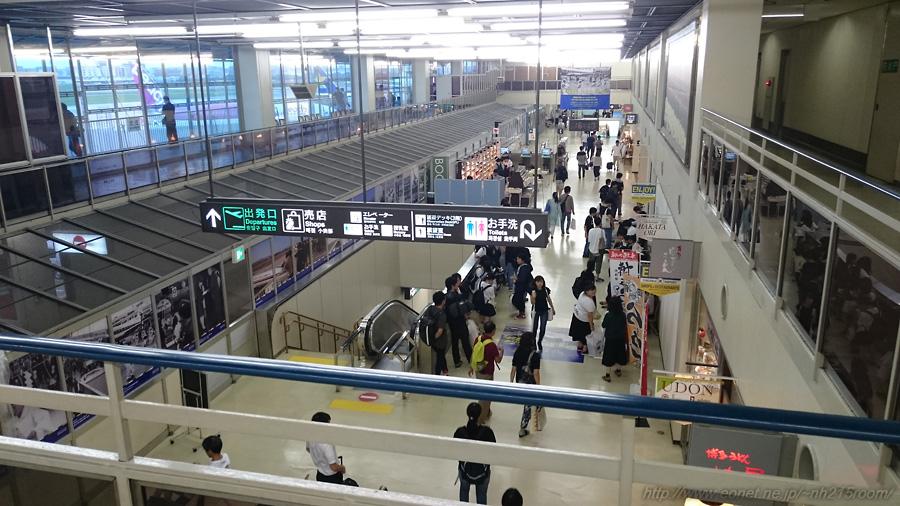 福岡空港第1ターミナル館内