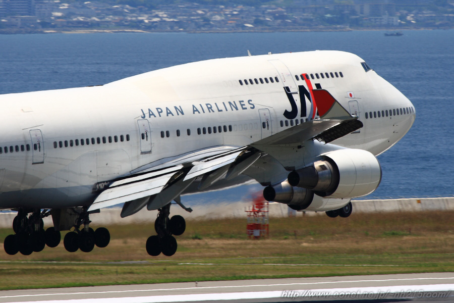 JAL B747-446@KIX
