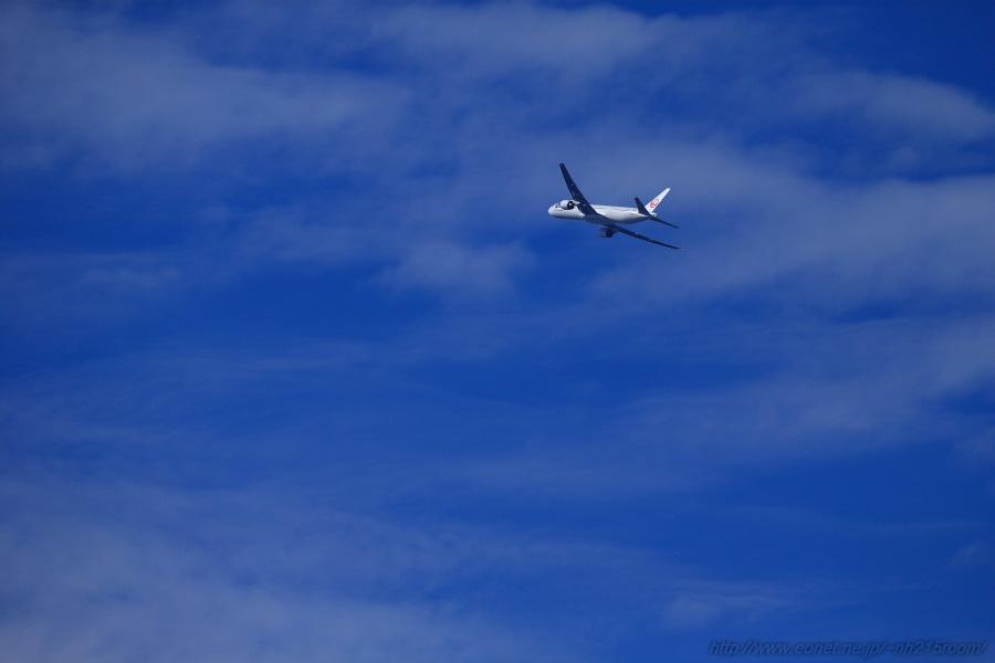 JAL B777-346 / JA752J@RWY14Rエンド・伊丹リサイクルセンター周辺