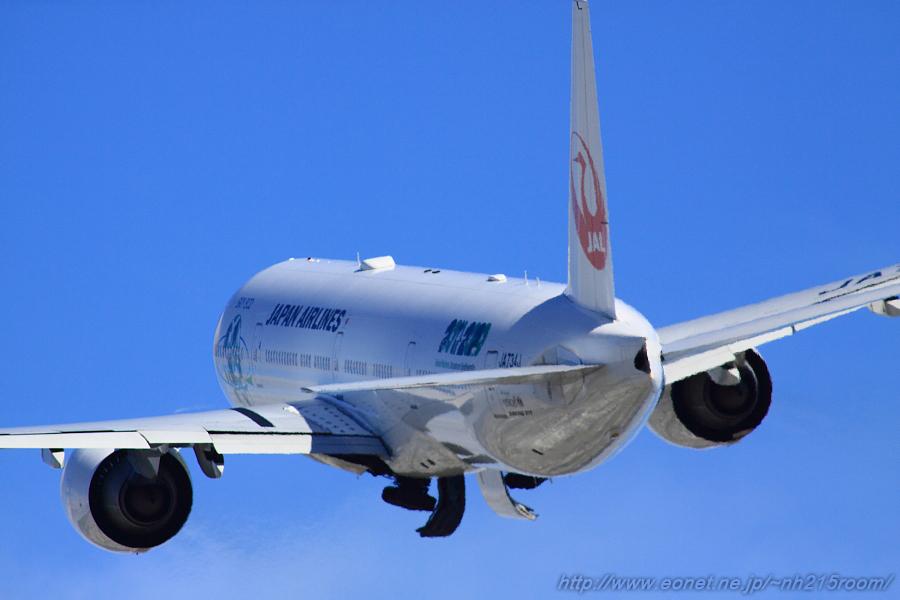 JAL B777-346ER / J734J