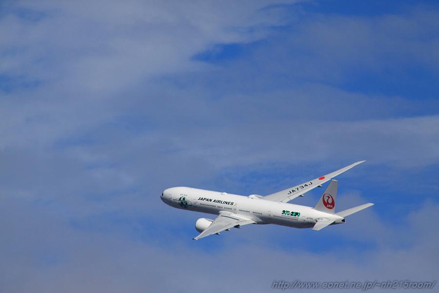 JAL B777-346ER / JA734J