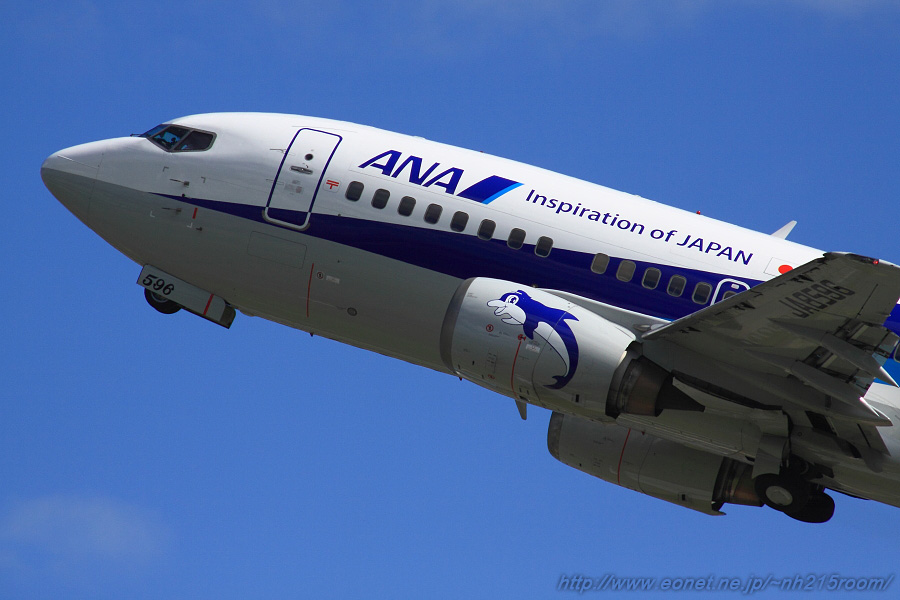 ANA WINGS B737-54K / JA8596