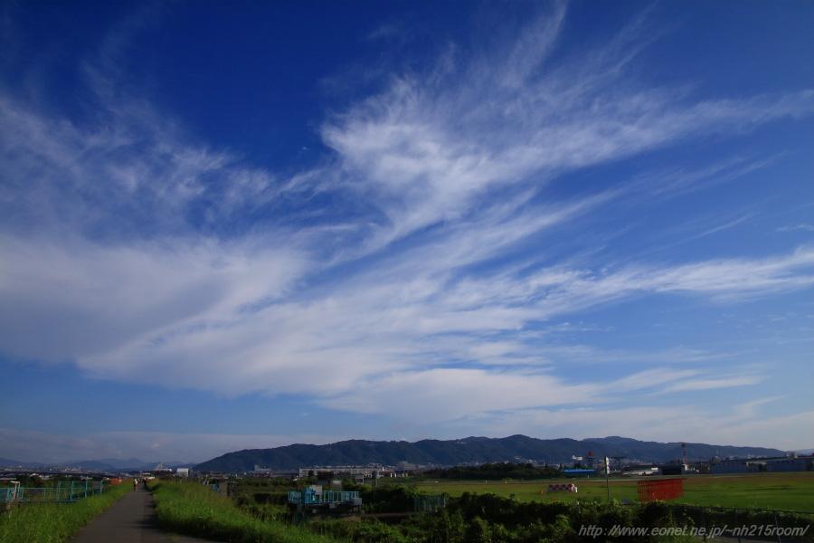 五月山方面の空