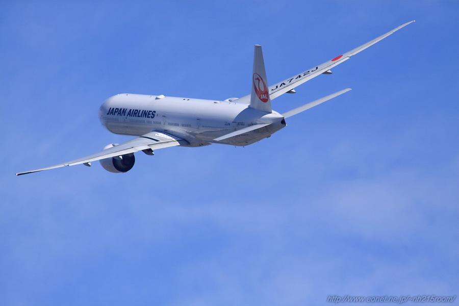 JAL B777-346ER / JA742J