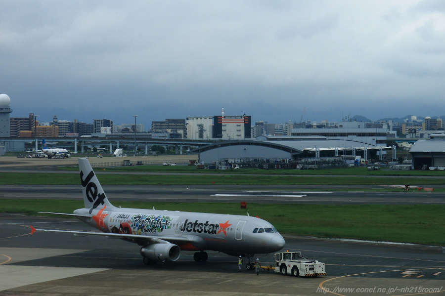 JJP A320-200@福岡空港第1ターミナル展望室