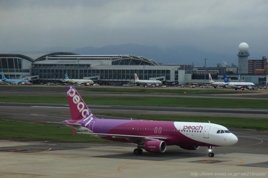 APJ A320-200@福岡空港第1ターミナル展望室