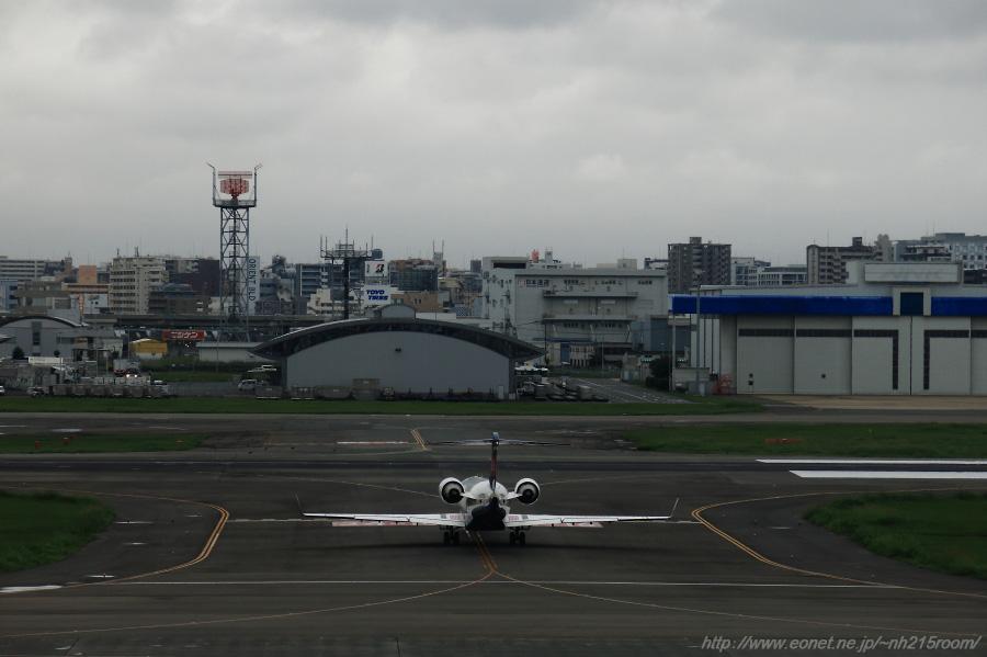 IBX CRJ-700@福岡空港第1ターミナル展望室