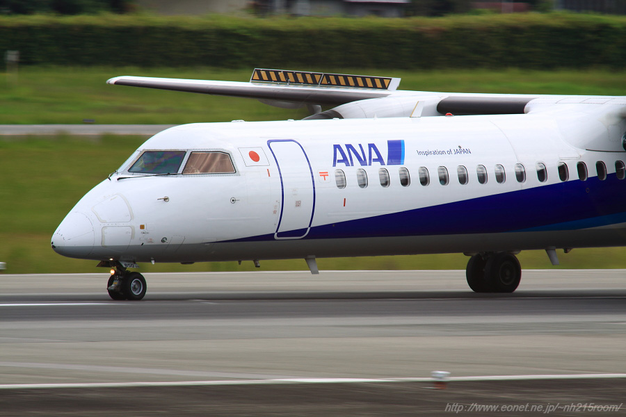 ANA WINGS DHC-8-402Q / JA850A@伊丹スカイパーク