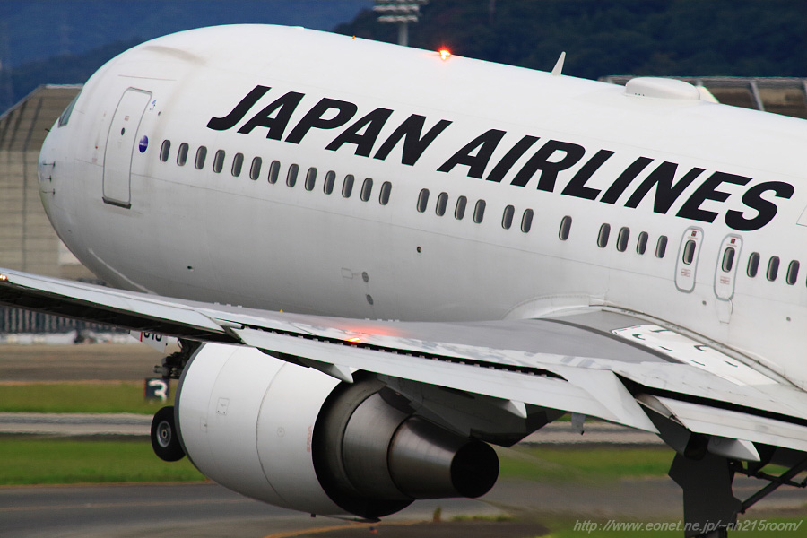 JAL B767-346ER / JA613J@伊丹スカイパーク