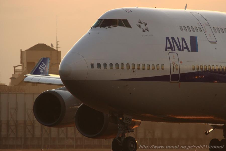 ANA B747-481 / JA8958@スカイランドHARADA周辺 (2008.1.31)