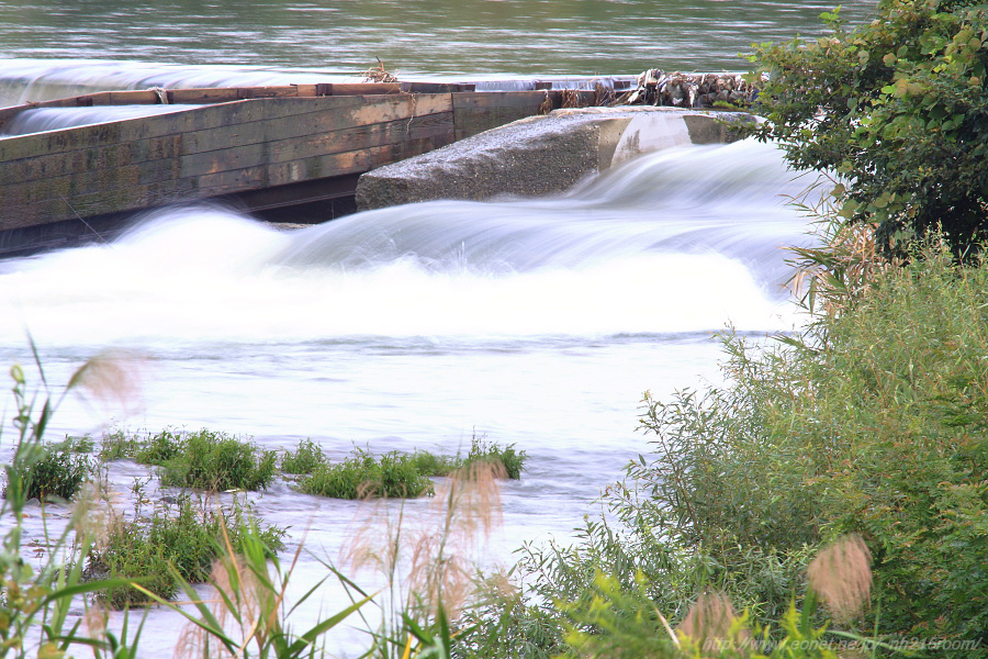 我が心の河・・・猪名川の流れ@RWY14Rエンド・猪名川土手