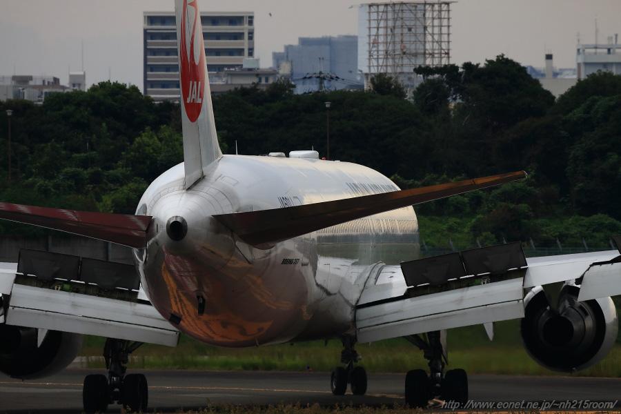 JAL B767-346ER / JA601J@伊丹スカイパーク南駐車場