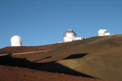 マウナケアの天文台