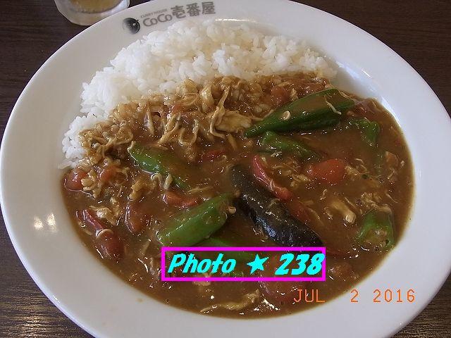 チキンと夏野菜カレー