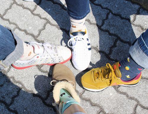 どの靴だ?
