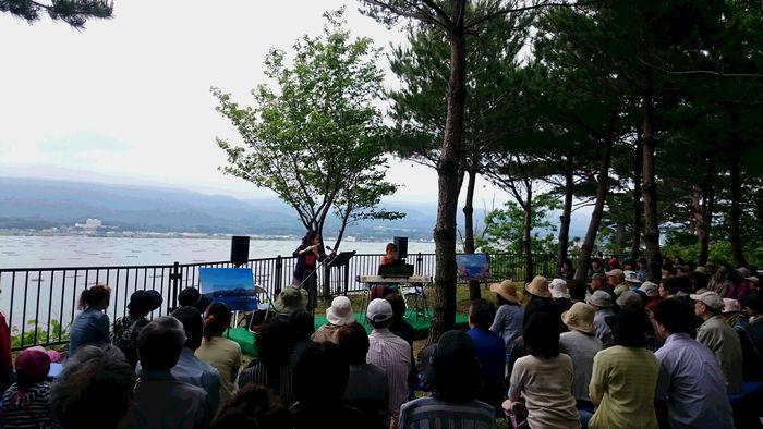 20160605加茂湖サイコーなコンサート中