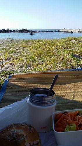 2016夏最後の日の海 でソトベン