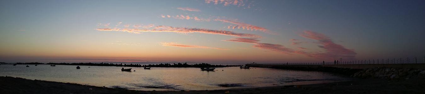 2016夏最後の日の海 でパノラマ