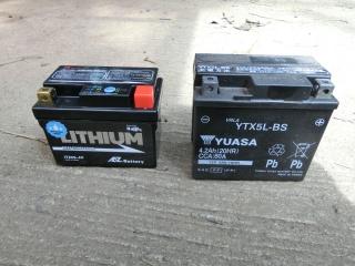 バッテリー比較