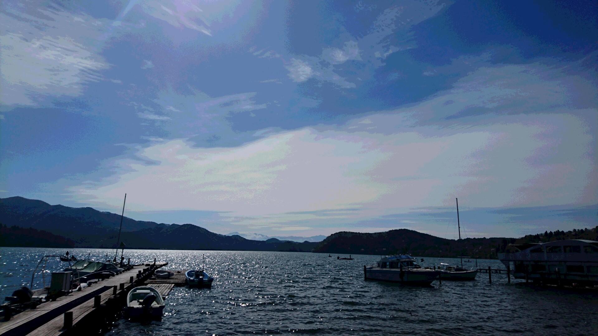 20160423 朝の湖