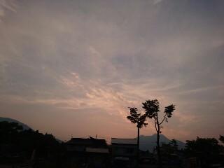 20160520 夕焼け