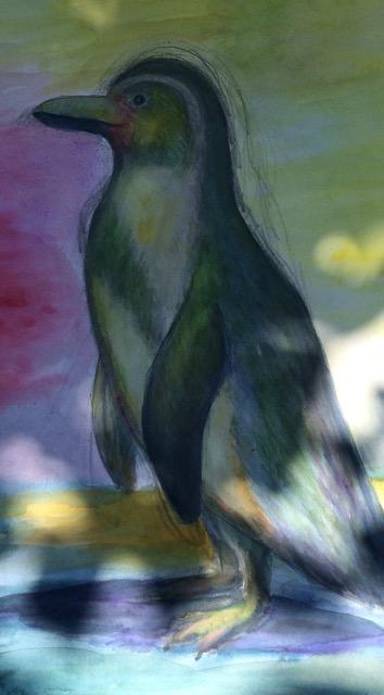 ペンギン絵