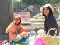 鶴丸愛ママと2人絵