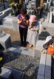 2016/8/13お墓参り